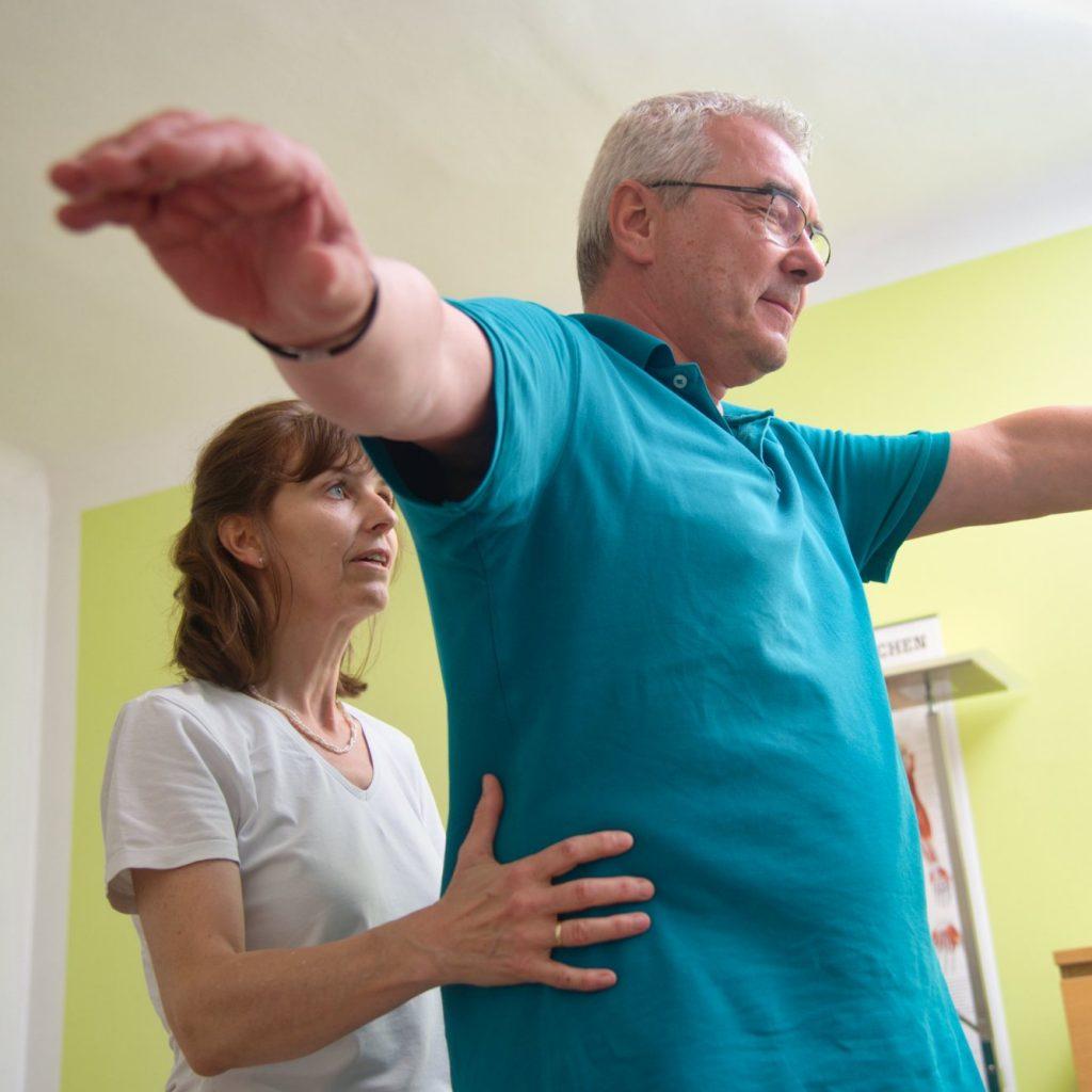 Elisabeth Mühlberghuber mit Patient